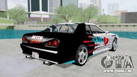 Elegy 4 Drift Drivers V2.0 pour GTA San Andreas laissé vue