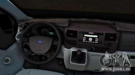 Ford Transit 2007 Model AirTran für GTA San Andreas Seitenansicht