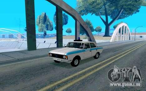 Moskvitch 412 Police pour GTA San Andreas