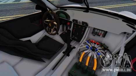 Porsche 911 GT3 Cup pour GTA San Andreas vue arrière