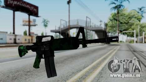 M16 A2 Carbine M727 v4 pour GTA San Andreas