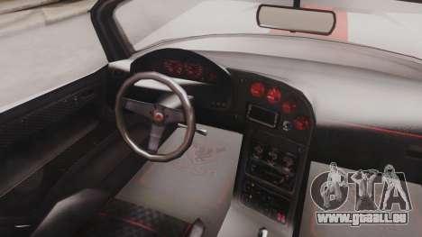 GTA 5 Bravado Banshee 900R IVF für GTA San Andreas Rückansicht