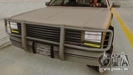 GTA 4 Declasse Rancher IVF pour GTA San Andreas vue de droite