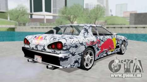 Elegy 4 Drift Drivers V2.0 pour GTA San Andreas vue intérieure