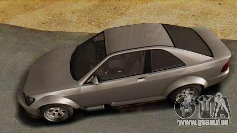 GTA 5 Karin Sultan RS pour GTA San Andreas vue arrière