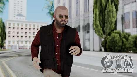 Hunter Costume Michael pour GTA San Andreas