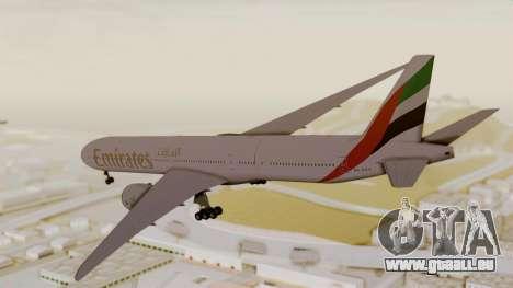 Boeing 777-9x Emirates Airlines pour GTA San Andreas laissé vue