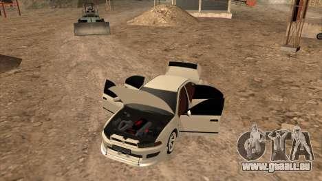 Mitsubishi Galant VR-4 (2JZ-GTE) pour GTA San Andreas vue de droite