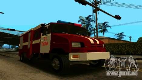 ZIL-5301 pour GTA San Andreas vue intérieure