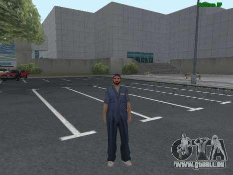La peau travailleur IZH de Réparation automobile pour GTA San Andreas