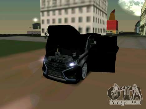 Lada Vesta 2016 für GTA San Andreas linke Ansicht
