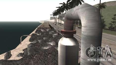 Route de réparation-Les Saints - Les entreprises pour GTA San Andreas sixième écran