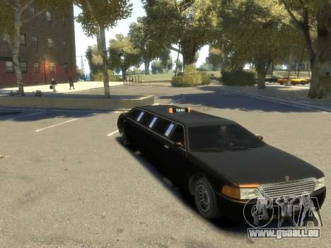 Taxi STRECH pour GTA 4