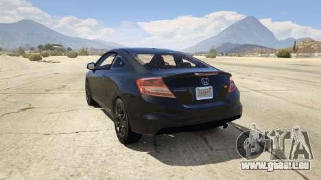 Honda Civic SI pour GTA 5