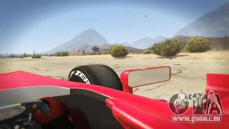 GTA 5 Ferrari F1 hinten rechts