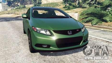 Honda Civic SI v1.0 pour GTA 5