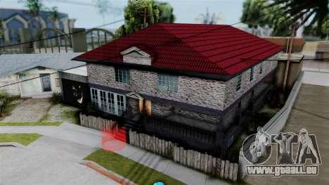 LS_Johnson Maison V2.0 pour GTA San Andreas deuxième écran