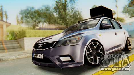 Kia Ceed Stance AirQuick pour GTA San Andreas