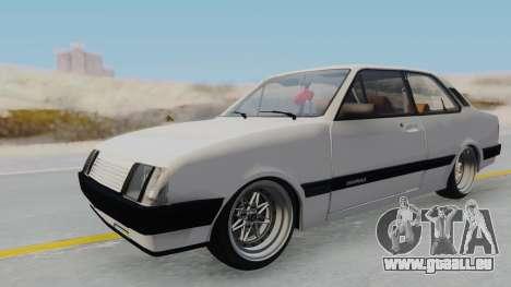Chevrolet Chevette Stance pour GTA San Andreas vue de droite