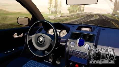 Renault Megane CPJ pour GTA San Andreas vue arrière