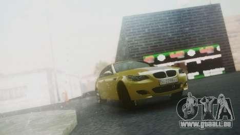BMW m5 e60 Gold für GTA San Andreas linke Ansicht