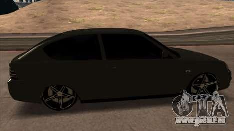 Lada Priora Coupé pour GTA San Andreas vue de droite