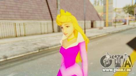 Sleep Beauty Aurora Pink für GTA San Andreas