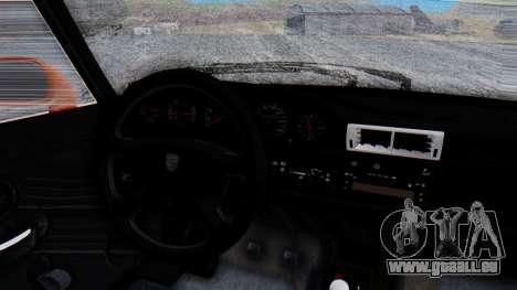 Porsche 993 GT2 RWB GARUDA für GTA San Andreas Innenansicht