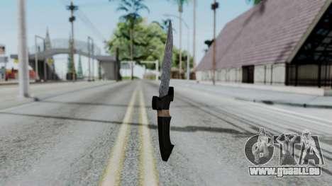 New Knife für GTA San Andreas zweiten Screenshot