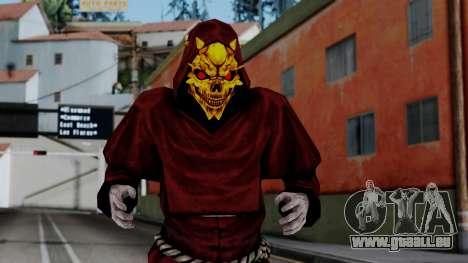 Monje Skull Gold Skin pour GTA San Andreas