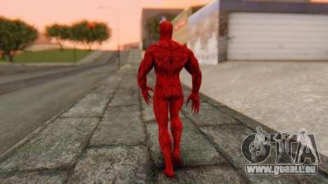 Marvel Heroes - Carnage pour GTA San Andreas troisième écran