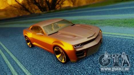 Chevrolet Camaro DOSH Tuning v2 für GTA San Andreas
