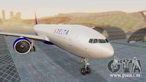 Boeing 777-200LR Delta Air Lines für GTA San Andreas