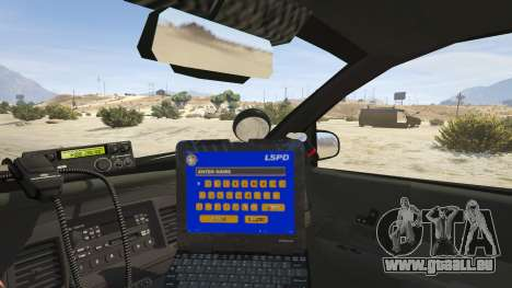 GTA 5 FBI Ford CVPI Rückansicht