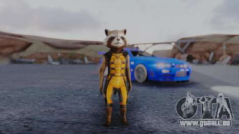 Marvel Future Fight - Rocket Raccon für GTA San Andreas zweiten Screenshot