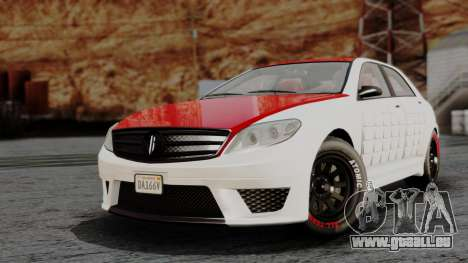 GTA 5 Benefactor Schafter V12 Arm IVF pour GTA San Andreas