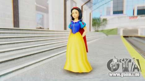 Snow White pour GTA San Andreas deuxième écran