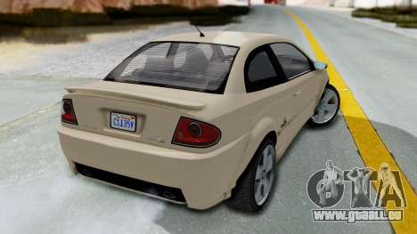 GTA 5 Declasse Premier IVF für GTA San Andreas linke Ansicht