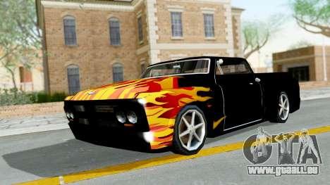Blade New PJ pour GTA San Andreas laissé vue