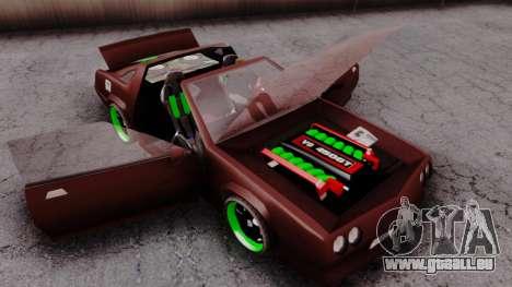 NEW Buffalo Bandit für GTA San Andreas rechten Ansicht