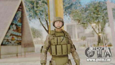 US Army Urban Soldier from Alpha Protocol pour GTA San Andreas