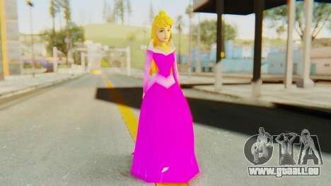 Sleep Beauty Aurora Pink für GTA San Andreas zweiten Screenshot