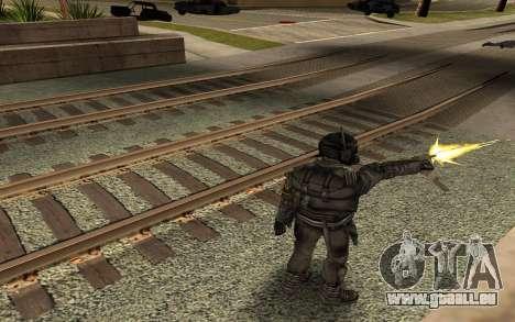 Swat from GTA Criminal Russia pour GTA San Andreas troisième écran