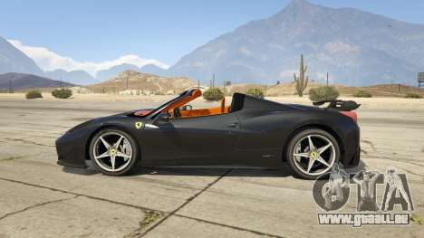 Ferrari 458 Mansory Siracusa Monaco Edition pour GTA 5