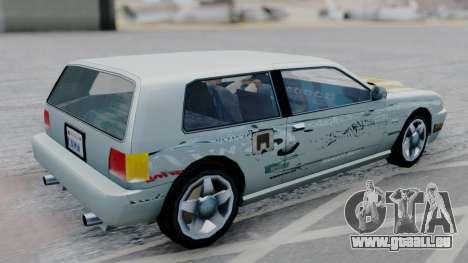 Flash F&F3 Silvia PJ für GTA San Andreas linke Ansicht
