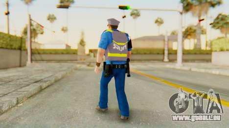 Dsher pour GTA San Andreas troisième écran
