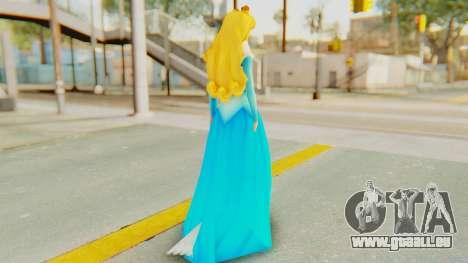 Sleep Beauty Aurora für GTA San Andreas dritten Screenshot
