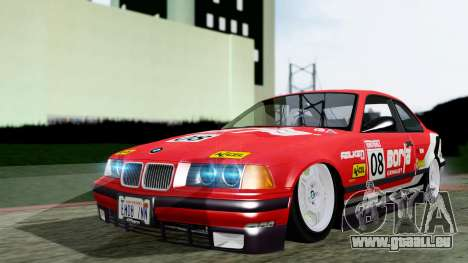 BMW M3 Coupe E36 (320i) 1997 für GTA San Andreas rechten Ansicht