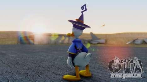 Kingdom Hearts 1 Donald Duck Disney Castle pour GTA San Andreas troisième écran