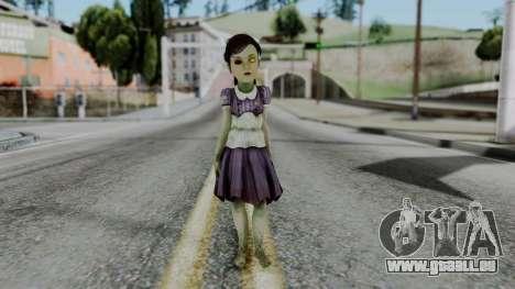 Bioshock 2 - Little Sister pour GTA San Andreas deuxième écran